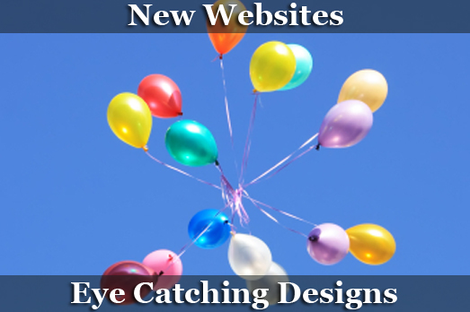 New Websites, Catchy Designs, Web Design